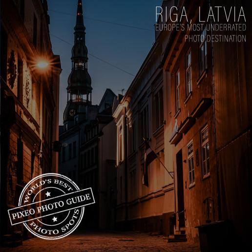 Riga Latvia Blog Post Thumbnail