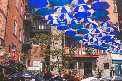 Umbrella Alley - Photo by Shawn M. Kent